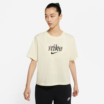 Nike  W Nsw Tee Boxy Naturenői ing Nők törtfehér