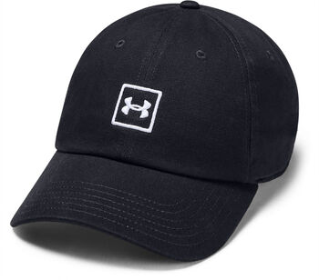 Under Armour Washed Cotton baseball sapka fekete