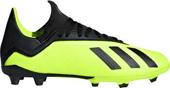 adidas X 18.3 FG J Kd. Nockenfussballschuh sárga