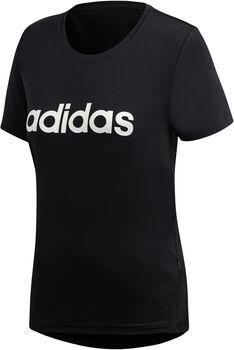 adidas W D2M LO TEE Nők fekete
