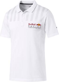 Puma RedBullRacing Logo galléros póló Férfiak fehér