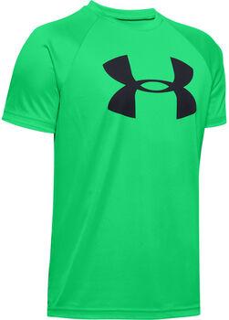 UNDER ARMOUR Fiú-T-shirt zöld