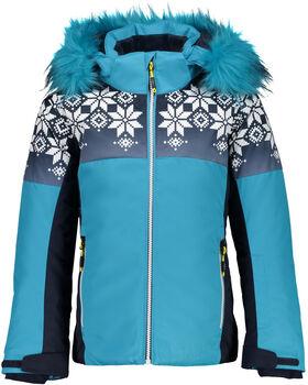 CMP Girl Jacket Snaps Hood kék