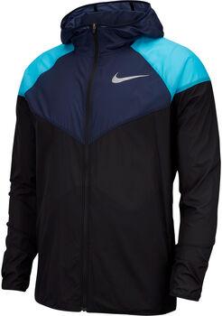 Nike Windrunner férfi futókabát Férfiak fekete