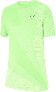 Nike Court Rafa gyerek teniszpóló Fiú sárga