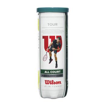 Wilson Tour All Court 3er teniszlabda fehér