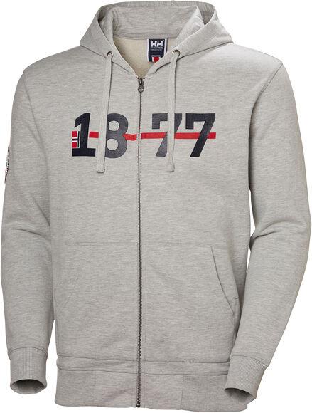 1877 FZ Hoodie férfi kapucnis felső