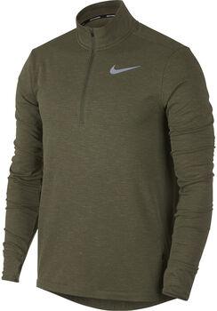 Nike Therma Sphere férfi futófelső Férfiak zöld