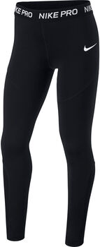 Nike Pro Big Kids' Tights Lány fekete