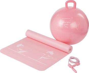 ENERGETICS gyerek fittnesz szett rózsaszín