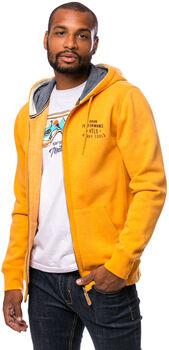 Heavy Tools Sitor férfi kapucnis felső Férfiak sárga