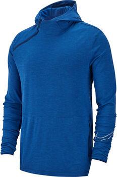 Nike Sphere Running Hoodie férfi kapucnis futófelső Férfiak kék