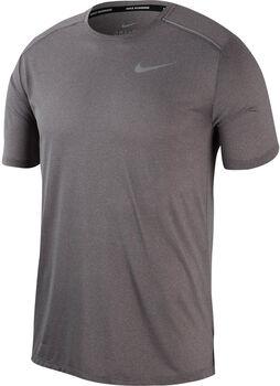 Nike Dri-FIT Miler Running Top férfi futópóló Férfiak szürke