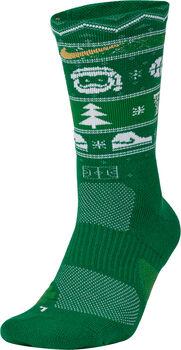 Nike U NK ELITE CREW zokni zöld