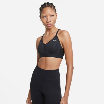 Nike W Nk Indy Bra V-Neck melltartó Nők fekete