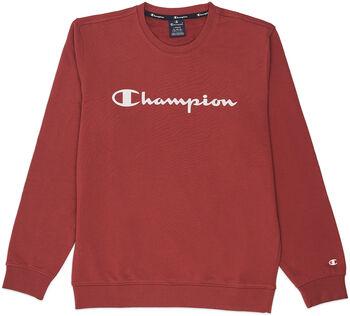 Champion Crewneck Sweat férfi pulóver Férfiak barna