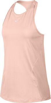 Nike W Pro Tank All Over Mesh női top Nők rózsaszín