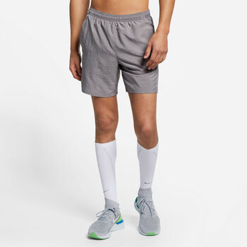 "Nike Challenger7"" Lined Running Shorts futó rövidnadrág Férfiak szürke"