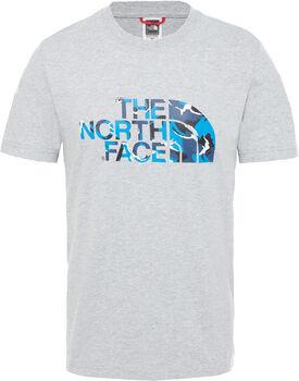 The North Face M Extent II férfi póló Férfiak szürke