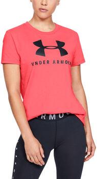 Under Armour Graphic Sportstyle Classic Crew W női póló Nők piros