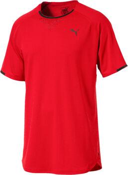 Puma Energy Laser SS férfi póló Férfiak piros