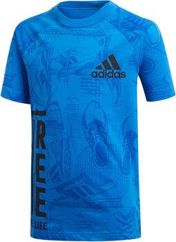 ADIDAS YB ID Print Tee gyerek póló Fiú kék