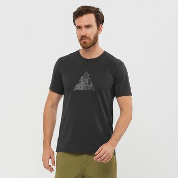 Salomon Explore Blend férfi póló Férfiak fekete