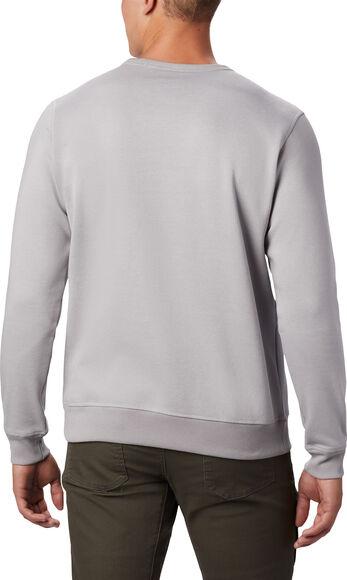 M Logo Fleece Crew férfi pulóver