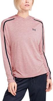 Under Armour Tech™ Twist Graphic női kapucnis felső Nők rózsaszín