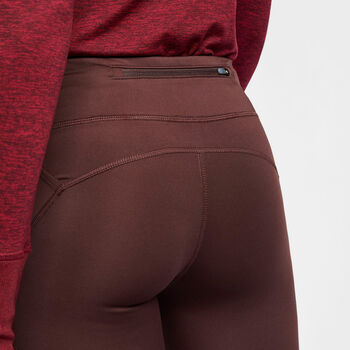 Nike Running Tights Nők barna