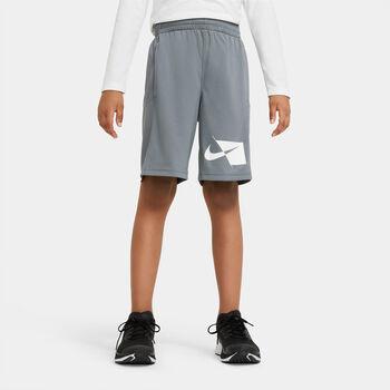 Nike Dri-FIT gyerek rövidnadrág szürke