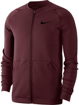 Nike Pro FZ Fleece férfi kabát Férfiak piros