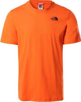 The North Face S/S Redbox férfi póló Férfiak narancssárga