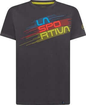 La Sportiva Stripe Evo férfi póló Férfiak szürke