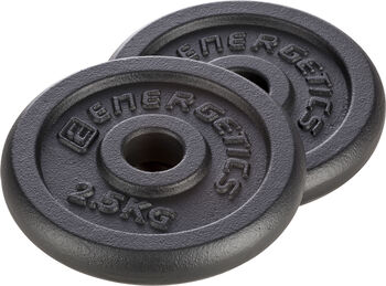 ENERGETICS öntött vas súlyzótárcsák 0,5 kg - 5 kg