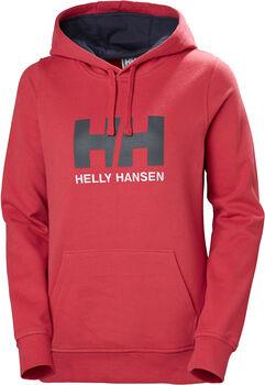 Helly Hansen W HH Logo Hood női kapucnis felső Nők piros