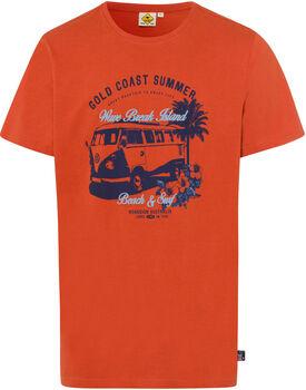 Roadsign Gold Coast férfi póló Férfiak narancssárga