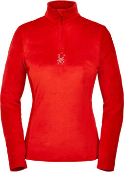 Spyder Shimmer Bug Zip T női póló Nők piros