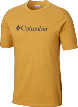 Columbia CSC Basic Logo S férfi póló Férfiak sárga