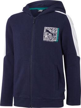 Puma Boy Hooded FZ fiú kapucnis felső kék