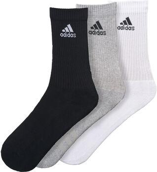 ADIDAS 3-Stripes Adicrew sportzokni (3pár) Férfiak fekete