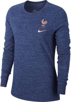 Nike FFF Long-Sleeve T-Shirt férfi hosszúujjú felfő kék