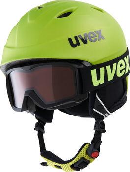 Uvex Airwing 2 pro gyerek sísisak szemüveggel sárga