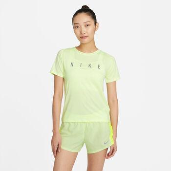 Nike Miler Run Division női póló Nők sárga