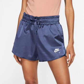 NIKE W Nsw Air Short Satin Nők lila