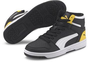 Puma Rebound Layup S gyerek szabadidőcipő fekete