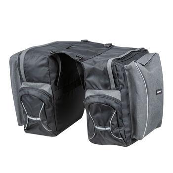 Cytec 2 részes kerékpár táska szürke