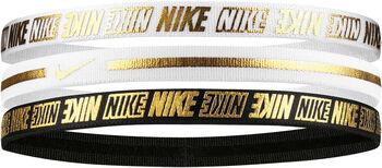 Nike Metallic hajpánt  (3 db) Nők törtfehér