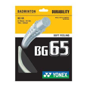 Yonex BG 65 tollasütőhúr fehér