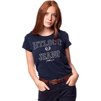 Heavy Tools Mikka női póló Nők kék